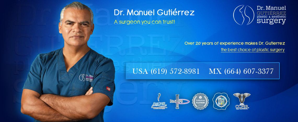 A Surgeon you can trust! Over 20 years of experience.
