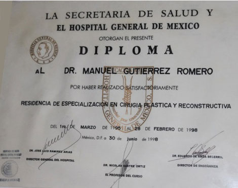 Diploma of Health Secretary